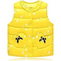 Chaleco para Niños - Otoño Invierno Cálido Chaquetas Bebé Niñas Moda sin Mangas Abrigo Ropa con Botones
