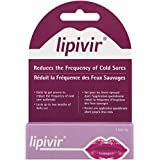 Lipivir Cold Sore Prevention Gel, Reduces the Frequency of Cold Sores, 2 Grams, 1 Tube