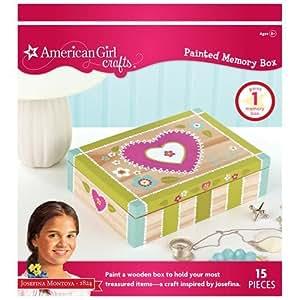 American girl crafts painted memory box kit for American girl craft kit