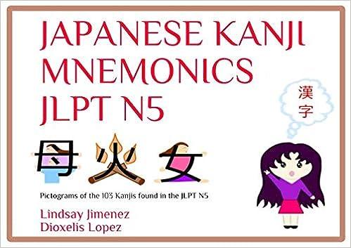 Amazon com: JAPANESE KANJI MNEMONICS JLPT N5: Pictograms of