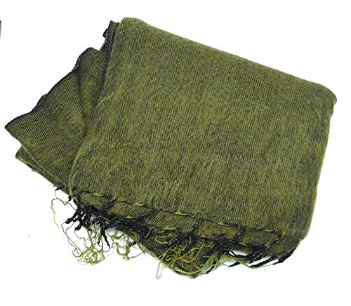Himalaya Clothing 100% Yak Wool Soft Throw Blanket Handmade in Nepal 50