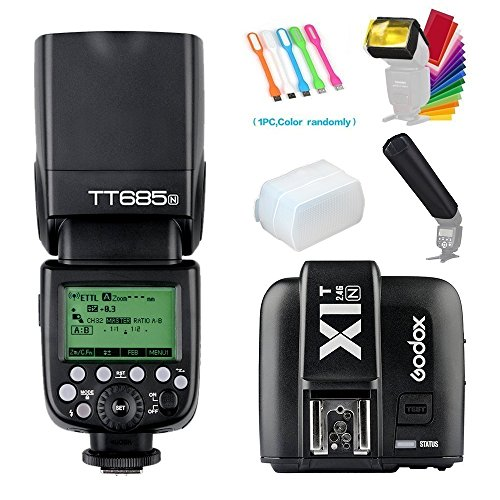 Godox TT685N I-TTL 2.4GHz GN60 High-Speed Sync 1/8000s Maste