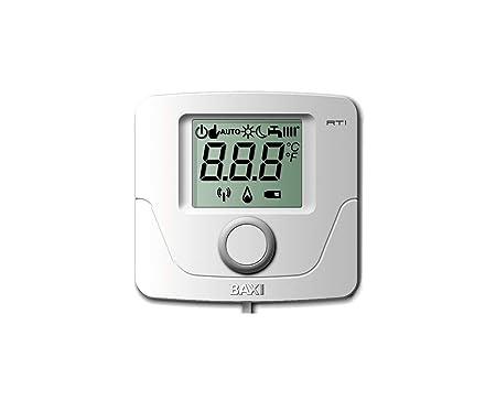Baxi termostato calefaccion Digital progr Diario TCD 10C: Amazon ...