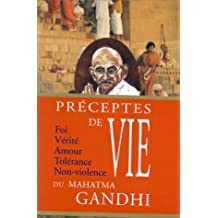 PRECEPTES VIE GANDHI MAHATMA