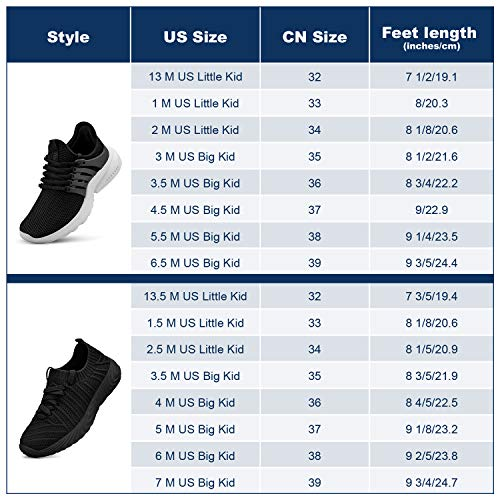 domirica Kids Shoes Non Slip Running Tennis Shoes Lightweight Slip On Mesh Athletic Hiking Walking Boys Sneakers