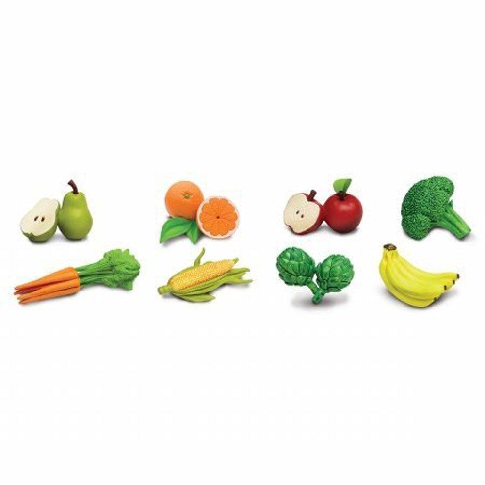 amazon com safari ltd fruits u0026 vegetables toob toys u0026 games