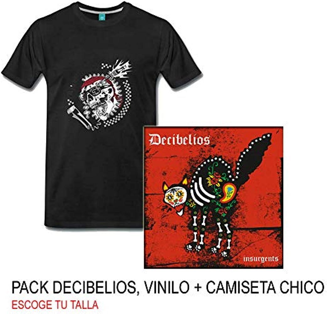 Decibelios Pack, LP-Vinilo Insurgents más Camiseta (S): Amazon.es ...