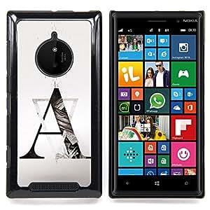 Stuss Case / Funda Carcasa protectora - Formación Arte Un triángulo Forma - Nokia Lumia 830