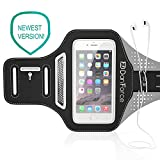 IPhone 7 , 6 , 6S SPORTS Armband | Stores Phone, Cash, Cards and Keys , Great for Running, Cycling, Workouts or any Fitness Activity Securely in Stret