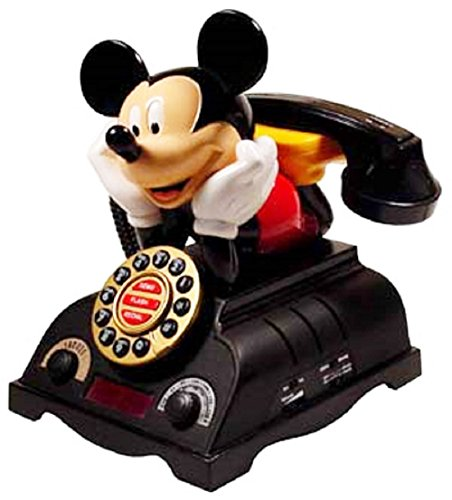 (TeleMania 025578 Mickey Talking Alarm Clock)