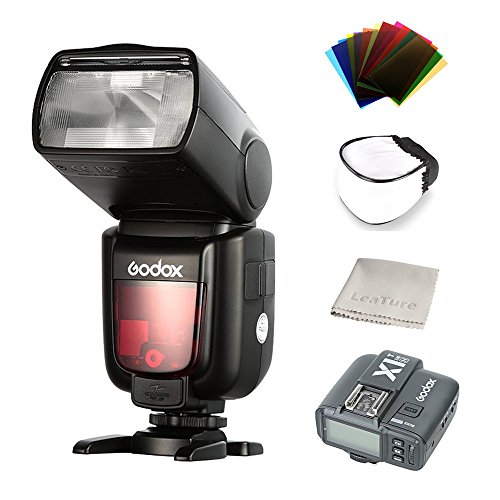 Godox Thinklite TTL HSS TT685N Camera Flash, with X1T-N Transimitter High Speed 1/8000 GN60 for Nikon DSLR Cameras (TT685N+X1T-N)