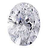 1.52 Ct.   Oval   F Color   VVS1 Clarity   U.S. Man Made Diamond