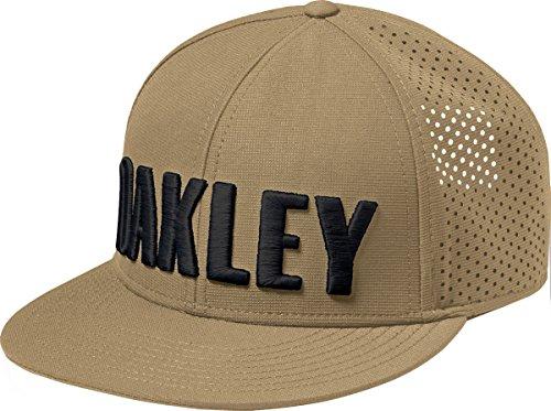Oakley Mens Perf Snapback Adjustable Hat One Size Antique Bronze