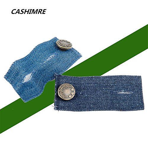 Belly Band-Denim Waist Extender/With Metal Button for ...