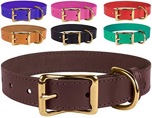 Handmade Leather Dog Collars - 6