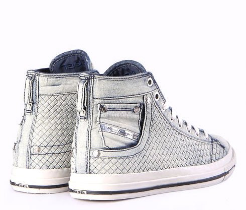 Diesel Botas Mujer Sneaker Magnete Exposure IV Jeans Jeans