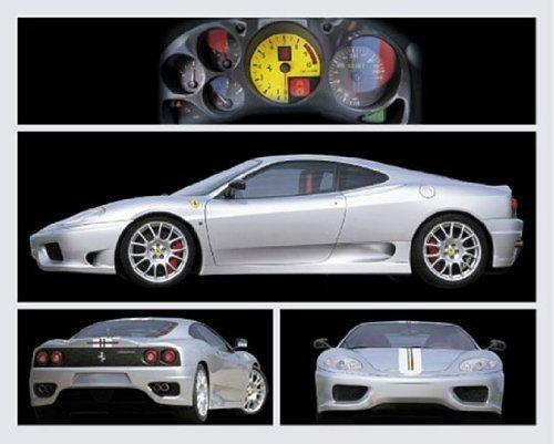 PAPER Ferrari Silver Sports Car 4 pics 20