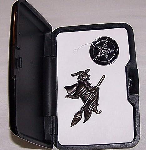 Amazon com : Secret Society Witch Wicca Spell Magic Zodiac Baphomet