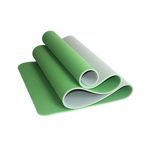 HLM- Yoga Mat Eco Ambiente Material TPE Antideslizante de ...