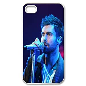 [MEIYING DIY CASE] For Iphone 4 4S case cover -Singer Adam Levine-IKAI0448325