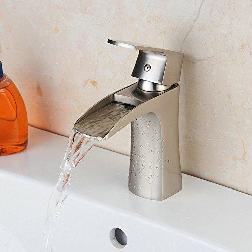 Hiendure Single Waterfall Bathroom Brushed