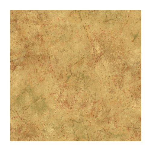 Sage Terra Cotta - York Wallcoverings Europa II Marble Prepasted Wallpaper, Golden Tan/Sage Green/Terracotta/Brown