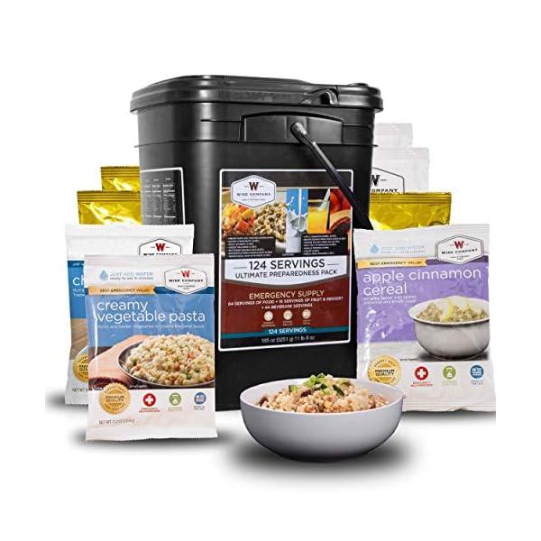 Wise Company 124-Serving Ultimate Preparedness Pack, Multi Color