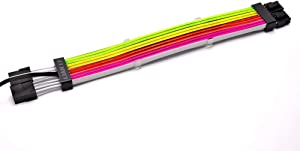 LIAN LI PW8-V2 ADDRESSABLE RGB STRIMER Plus 8-PIN, white