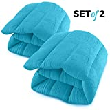 Microwavable Heating Pads Set of 2 Natural Moist