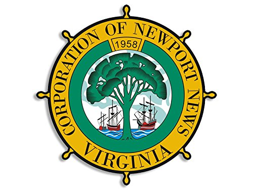 round-newport-news-city-seal-sticker-decal-logo-corporation-virginia