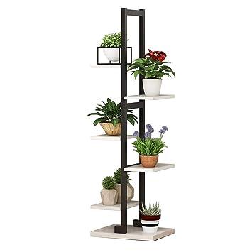 Étagère à fleurs Étagère à plantes Présentoir à plantes en métal ...