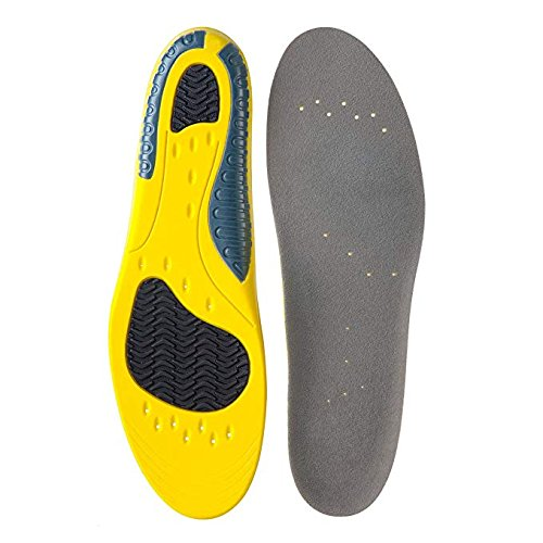 Orthotic Sport Shoe Insoles Breathable Plantar Fasciitis Insoles, Support Standing, Running, Pain Relief for Men...