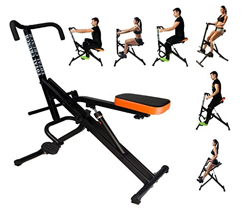 Total Crunch Six Pack Ab Slim Body Core - Hydraulic Exercise Equipment