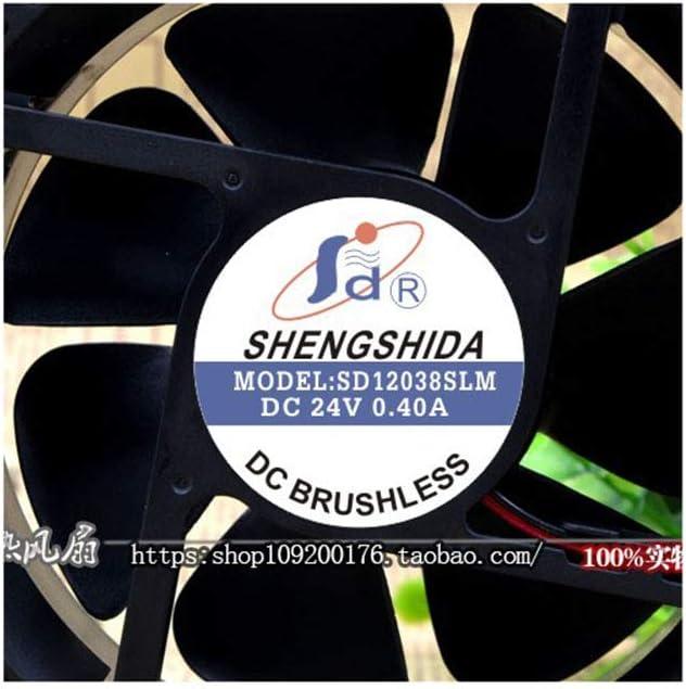 Cytom for New Letter SHENGSHIDA SD12038SLM 24V 0.40A 12CM Inverter Welding Machine Fan
