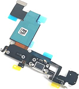 E-repair Charging Port Headphone Jack Flex Cable Replacement for iPhone 6S Plus (5.5'') - White