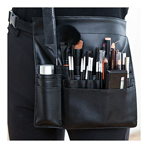 Pro Makeup Artist Cosmetics Tool Apron, Brush Belt Accessory