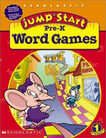 JumpStart Pre-K Word Games Workbook