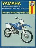 1986-2006 HAYNES YAMAHA YZ80, YZ85, YZ125, YZ250 SERVICE MANUAL NEW (2662)