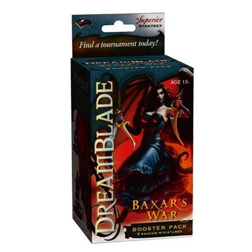 (Dreamblade Collectible Miniatures Game Baxar's War Booster Pack by Russ )