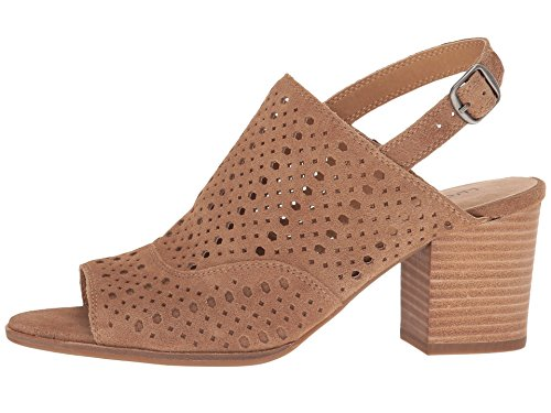 Boho-Chic Vacation & Fall Looks - Standard & Plus Size Styless - Lucky Brand Women's Ortiza Slingback Sandal,Sesame Suede,US 12 M
