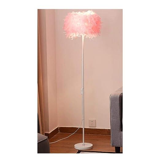 Xiix Lámpara de pie Suelo de Arco Moderna Pluma Lámpara de LED de ...