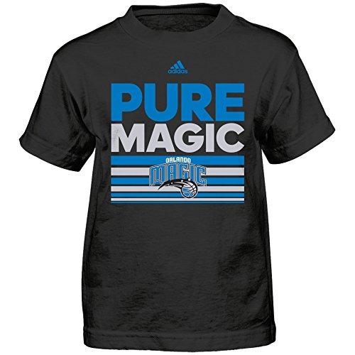 fan products of NBA Orlando Magic Boys Born One Short Sleeve Tee, Medium (5-6), Black