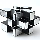 TANCH Dysmorphism Mirror Surface Speed Magic Cube 3X3 Puzzle for Children & Adults Silver