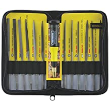 General Tools & Instruments 707475 Swiss Pattern Needle File Set, 12-Piece