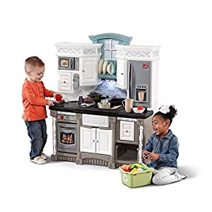 Step2 LifeStyle Dream Kitchen Playset (Deluxe Pack - 33-Piece Kitchen Toys Included)