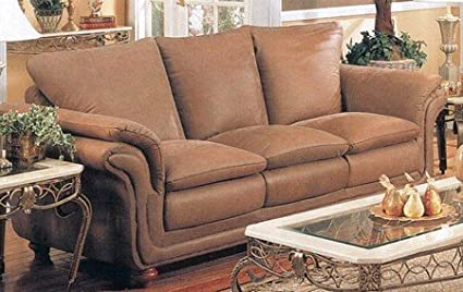 Amazon.com: Southern Country Style Italian Brushed Leather ...