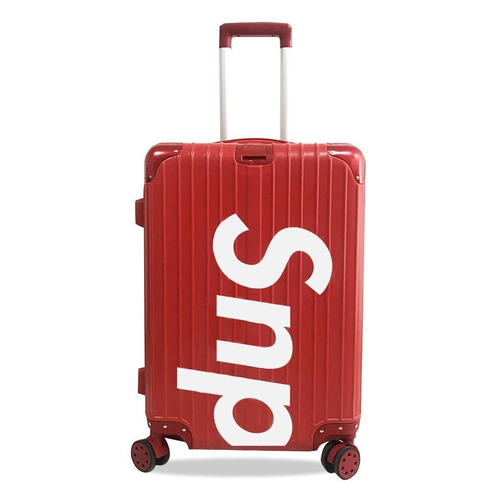 MinMin チャオ韓国語版パスワードパーソナリティクリエイティブ荷物トロリーケース学生潮韓国語版人格、黒、赤 旅行スーツケース (Color : B, Size : 41cmX26cmX65cm) B07TXVQ6VF B 41cmX26cmX65cm