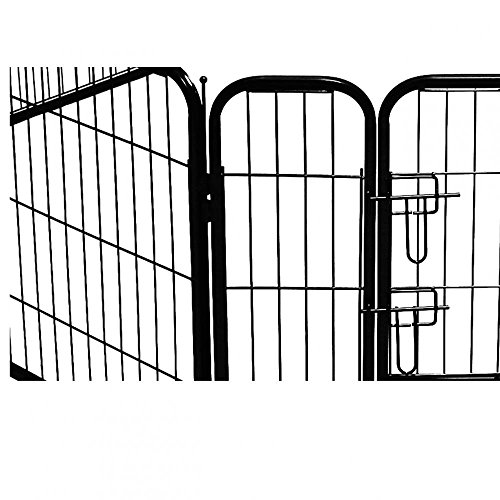 BestPet Black 40'' Heavy Duty Pet Playpen by BestPet (Image #3)'
