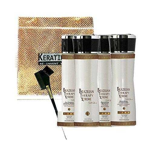 KERATIN CURE -BRAZILIAN THERAPY XTREME BTX - TREATMENT GOLD