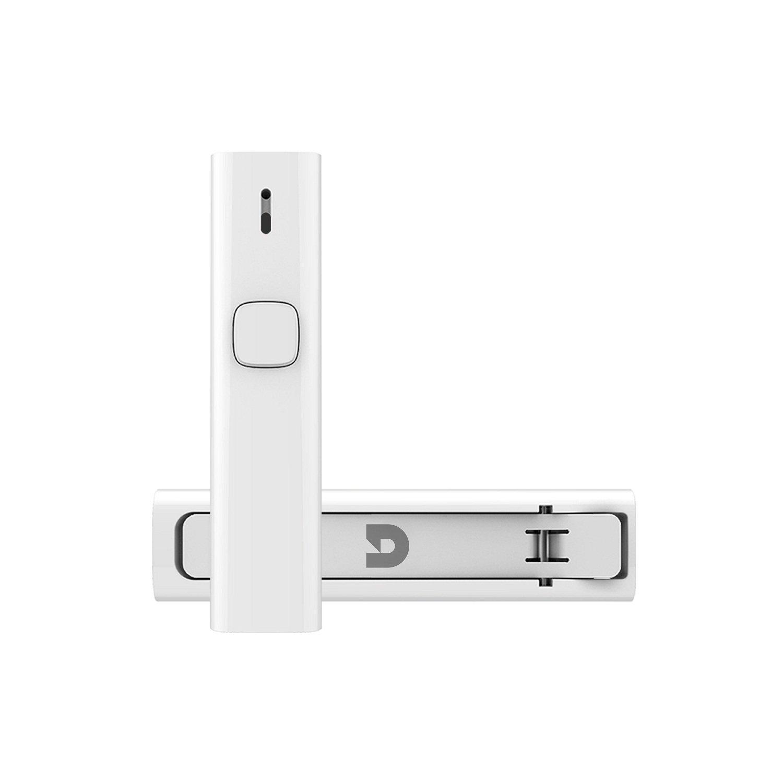 Bluetooth Empfä nger, Micar Bluetooth Audio Adapter, Freisprecheinrichtung Bluetooth 4.2 Aux Empfä nger Stereoanlage fü r Kopfhö rer KFZ Auto mit Stereo 3.5 mm Aux Input, Weiß